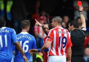 Наставник Стока разгневан поступком своего игрока во время матча с Челси