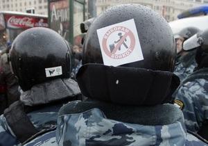 Московська поліція попереджає про можливі провокації після мітингу опозиції