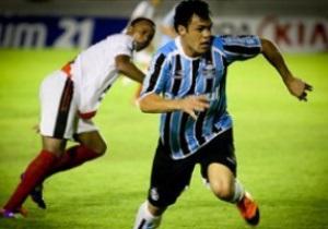 Арендованный у Динамо Бертольо забил мяч и отдал голевую передачу в матче за Гремио