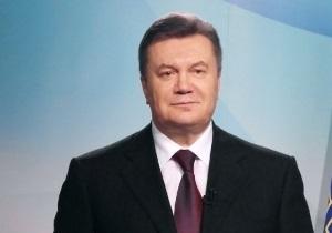 Янукович привітав жінок: Я буду робити все можливе, щоб ви жили в добрі й достатку