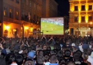 Немецкие эксперты одобрили львовскую фан-зону Евро-2012