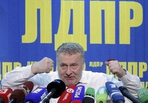 Жириновський: ЛДПР і я будемо вічно на політичному полі Росії