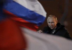 Путін пояснив причину своїх сліз