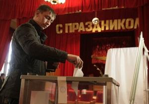 У Росії завершилися президентські вибори