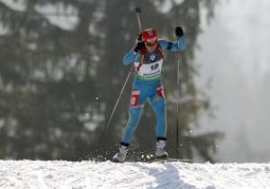 Вита Семеренко завоевала бронзовую медаль чемпионата мира по биатлону