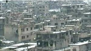 Влада Сирії каже, що затримала колону Червоного Хреста, аби знешкодити міни