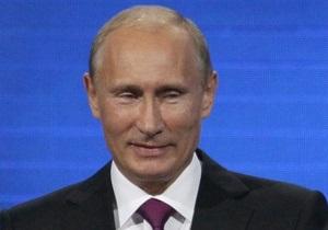 Путін заявляє про інтерес Великобританії до Північного потоку