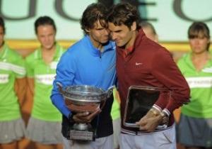 Надаль и Федерер собираются попасть в Книгу рекордов Гиннеса