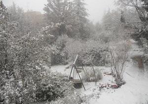 Негода в Ізраїлі: В Єрусалимі випав сніг