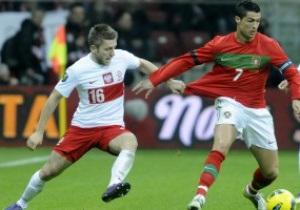 Польша разошлась миром с Португалией, Россия разобралась с Данией