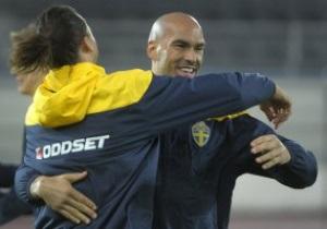 Ибрагимович  помог  серьезно травмироваться защитнику сборной Швеции