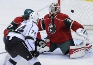 NHL: Лос-Анджелес легко разбирается с Миннесотой, Бостон дома уступил Оттаве