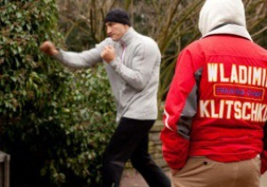 Фотогалерея: Городские истории. Кличко готовится к бою с Мормеком на улицах Дюссельдорфа
