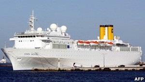 Ще один круїзний лайнер Costa зазнав лиха