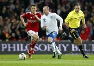 Руни: Хочу помочь сборной Англии обыграть Украину на Евро-2012