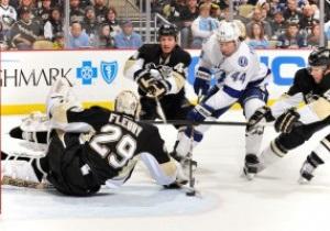 NHL. Питтсбург уничтожил Тампу, Филадельфия лишь по буллитам обыграла Калгари