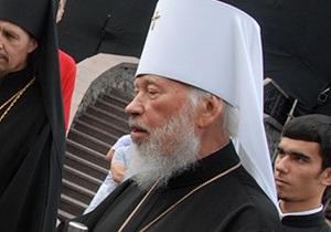 Митрополит Володимир заперечує інформацію про розкол в УПЦ МП