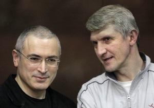 Адвокати Ходорковського подали скаргу на вирок до Верховного суду РФ