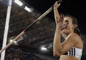 Исинбаева установила 28-й мировой рекорд