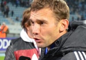 Шевченко: Я не знаю, буду ли играть после Евро-2012