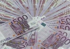 Євро на міжбанку пробив позначку в 10,7 гривень