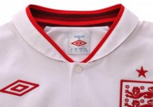 Фотогалерея: Левова шкура для Євро-2012. Представлена нова форма збірної Англії