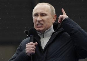 Путін на мітингу в Лужниках: Битва за Росію триває. Перемога буде за нами