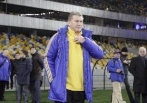 Блохин: Селезнев не соответствует уровню сборной, а Милевский и Воронин могут пропустить Евро