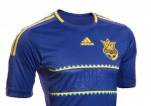 Фотогалерея: Гостевой наряд. Представлена новая форма сборной Украины