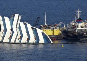 На затонулому біля берегів Італії круїзному лайнері знайшли тіла ще чотирьох загиблих
