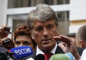 Ющенко запевнив, що не боїться опинитися у в язниці