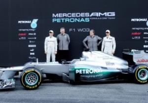 Mercedes представил новый болид