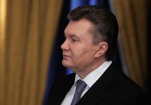 Янукович назвав знаковим візит Наришкіна в Україну, вірить в успіх газового діалогу з РФ