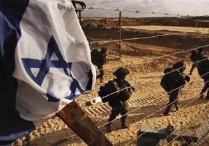 Ізраїльська армія завдала удару по сектору Газа