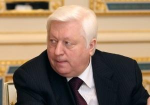 Пшонка: Луценко частково визнав свою провину