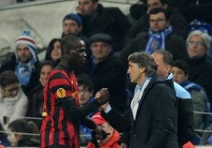 МанСити намерен жаловаться в UEFA за проявления расизма в адрес Балотелли и Туре