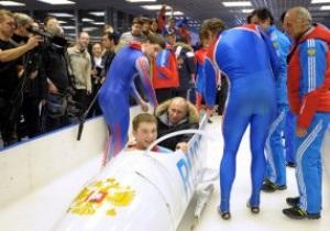 Фотогалерея: Премьерный заезд. Путин прокатился в бобе