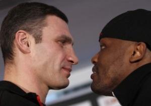Букмекеры считают Кличко безусловным фаворитом в бою с Чисорой