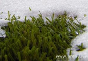 В начале марта газон Арены Львов выведут из  спячки