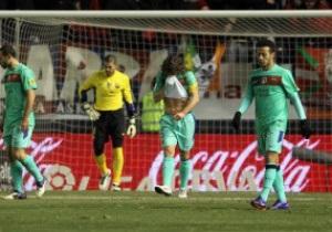 Барселона впервые в сезоне пропустила три мяча