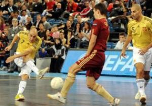 Футзал: За титул чемпионов Европы сразятся Россия и Испания