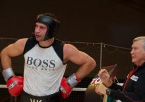 Кличко завершил подготовку к бою с Чисорой
