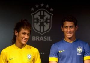 Фотогалерея: В чемпионском стиле. Представлена новая форма сборной Бразилии