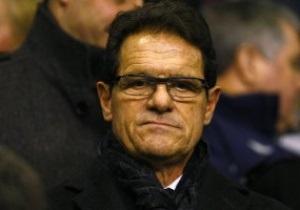 Официально: Футбольная ассоциация Англии приняла отставку Фабио Капелло