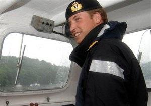 Принц Вільям розпочав військову службу на спірній території Фолклендських островів