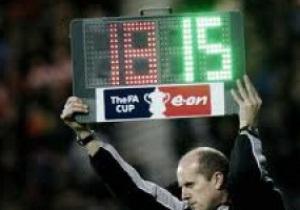 К Евро-2012 FIFA собирается ввести четвертую замену