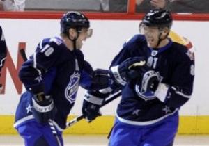 В Матче всех звезд NHL команды забросили 21 шайбу на двоих
