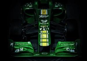 Команда Формулы-1 Caterham представила новый болид