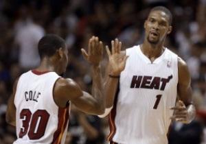 NBA: Нью-Йорк разгромил на выезде Шарлотт, 35 очков Боша принесли Майами победу над Кливлендом