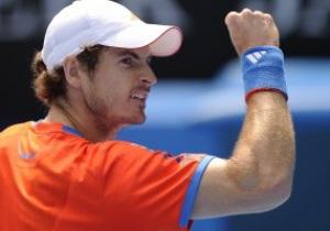 Мюррей, Федерер и Надаль пробились в полуфинал АО-2012